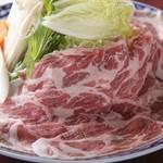 ・豚しゃぶ鍋(国産豚肩ロース使用)(小)