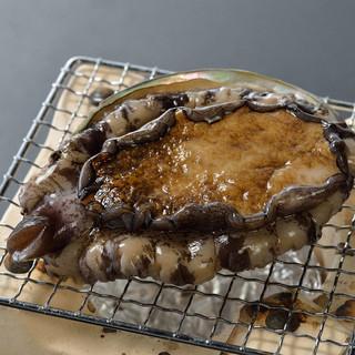 日本料理 錦りゅう - 料理写真:鮑の踊り焼き