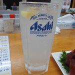 魚介 -  チューハイレモン250円(税別)