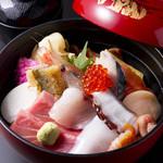 寿司割烹 豊魚 - 料理写真: ジャンボちらし