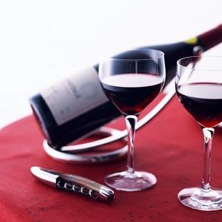 ワインにもこだわっています。