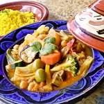 野菜のクスクス(モロッコ)
