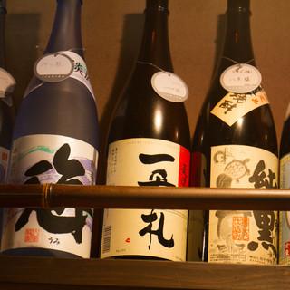 日本酒、多く取り揃えております!
