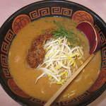 すわき後楽中華そば -  ピリごまラーメン(担担麺)