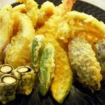 ●天ぷら盛合せ