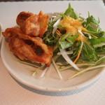錦水 -  副菜(鶏唐揚)