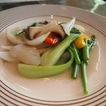 錦水 -  主菜(烏賊の野菜炒め)