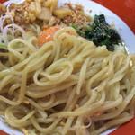 ラーメン千代作 - 麺