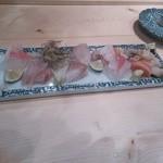 楽食ふじた -  お刺身の盛り合わせ
