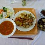 菜食レストラン シャローム - バイキングでとった一例です