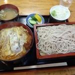 27601967 -  半カツ丼ともり蕎麦