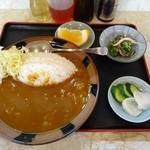 十八番 - 料理写真:カレーライス(550円)