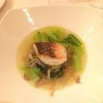 ル・ブルギニオン -  お魚のポワレ