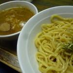 藍華 - 魚粉は必須! 「つけ麺 (750円)」+ 魚粉(無料)