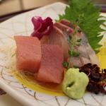 日本料理 ぎん -  勘八、鮪のお造り