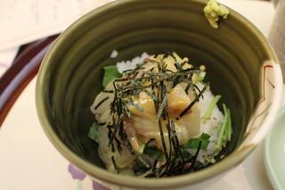 日本料理 ぎん - 鯛茶漬け