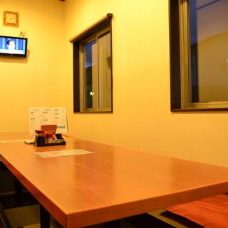 ◆12名様前後で使える個室席御座います♪