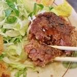 キッチン かな杉 -  手作りの粗挽きハンバーグ!