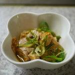 広島お好み焼き・鉄板焼き しょうちゃん - 付出しのアンキモ