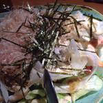 朱鯱 - 大根サラダ