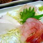 磯乃屋 -   夕食、刺身