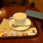 上島珈琲店 -  豆乳ミルクM:430円('14.05月)