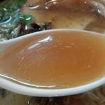麺ゃ しき -  スープ