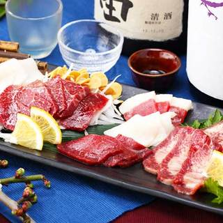 九州産直食材と九州郷土料理