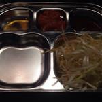 ベジテジや Soi - コース利用のセッティング皿