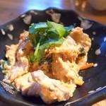 エヌ1221 -  昆布〆鯛と野菜の白和え