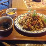 香味的茶楼小町 STANLEY MARKET - #162 @週替り麺/ミーゴレン800円