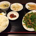 27629702 - 青椒肉絲定食