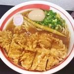27631161 -  揚げチキン麺+半熟味玉