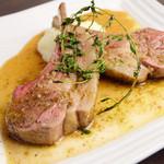 バルケッタ - 料理写真:《仔羊のロースト》