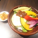 SHIKOKU バル 88屋 -  小豆島名物野菜のひしお丼