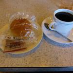 アンクル - 料理写真: アメリカンコーヒーとサービス
