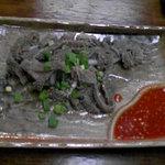 さかいちゃん - 料理写真:せんまい刺し