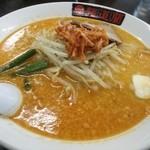 麺道蘭 二戸店 -  かっとびラーメン(800円)