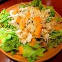 オーラパンアジル -  「イタリアンチキンサラダ」さっぱりとしたキチキンの乗ったサラダ