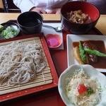 蕎麦処 瑠瞳 - 料理写真: 1400円 はこだて和牛御膳