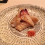 鮨 てる - みる貝の焼き物