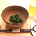 鮨 てる - しんとり菜、江戸川区のお野菜