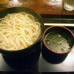 利右衛門 - 「釜あげうどん(大盛)」400円