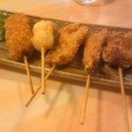浜小家 - 海鮮串盛りセット