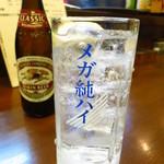 ホルモンばんちょう -  メガ純ハイ500円