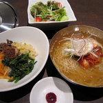 2768282 - ビビンバ+冷麺セット 950円