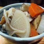 鳴門 - 大根と厚揚げの煮物
