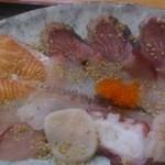 27697346 - (増税後)まかない丼お魚アップ