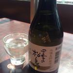 石田家 - ベタな地酒も観光客ですからしっかり楽しみますよ(^-^)