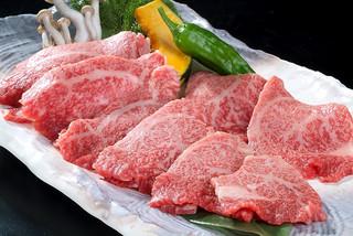 黒毛和牛焼肉 うしくろ - 特上ロース  シンタマロースのトモ三角部分を使用